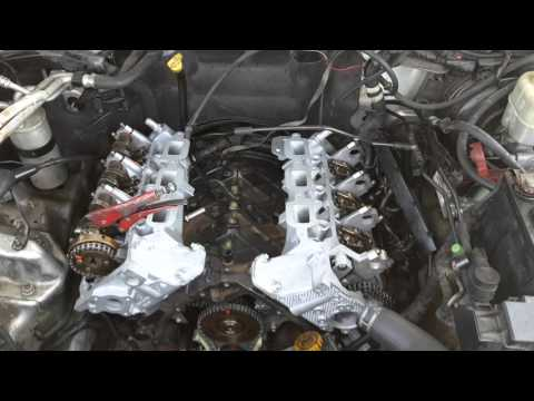 Top end rebuild cylinder heads 02 jeep liberty 3.7