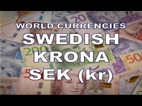 SEK Swedish krona