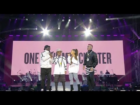 Black Eyed Peas and Ariana Grande - Where Is The Love? (Subtitulado) (One Love Manchester)