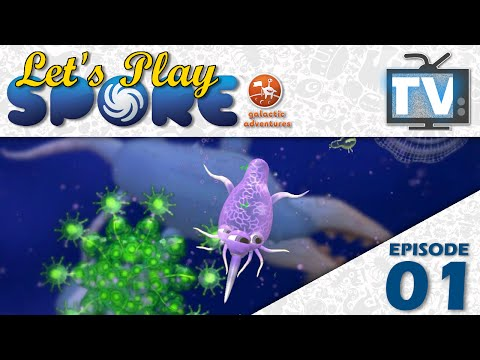 Let's Play Spore: Galactic Adventures - Episode 1