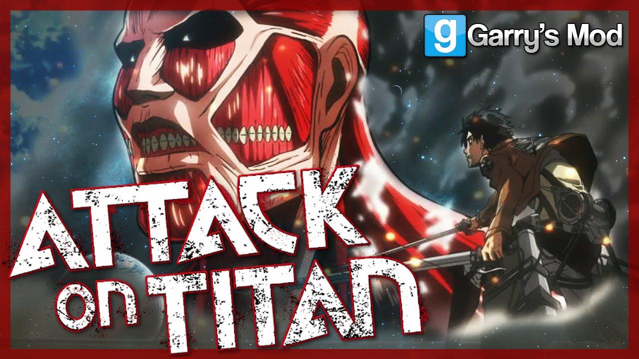 Download Garry's Mod | ATTACK ON TITAN MOD | Hunt and Kill Titans! (Gmod Sandbox Fun)