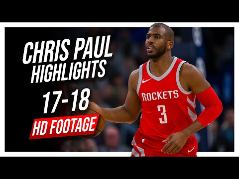 Rockets PG Chris Paul 2017-2018 Season Highlights ᴴᴰ