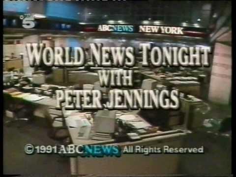 ABC NEWS IDs 90s Peter Jennings