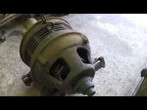 OLD WESTINGHOUSE ELECTRIC MOTOR on