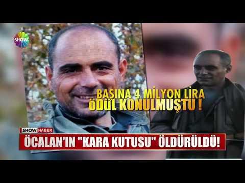 """Öcalan'ın """"Kara kutusu"""" öldürüldü!"""
