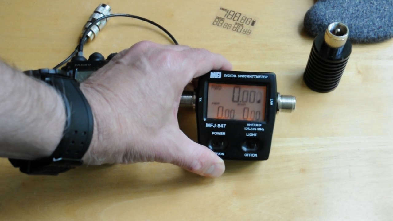 MFJ-847 VHF UHF SWR Wattmeter Review
