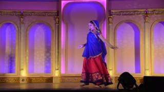 Radha kaise na jale by Bhavya Bhuwal- at Global village 2016