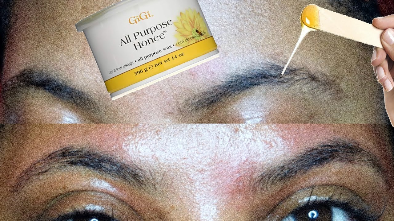 How to wax your eyebrows at home   VERY DETAILED   MUST ...
