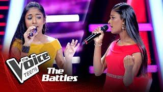 The Battles : Shakya Nethmi v Rashmi Pabasara | Adaraya Nisa | The Voice Teen Sri Lanka