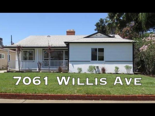 7061 Willis Ave, Van Nuys CA 91405