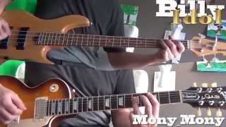 Billy Idol - Mony Mony (Guitar & Bass cover)