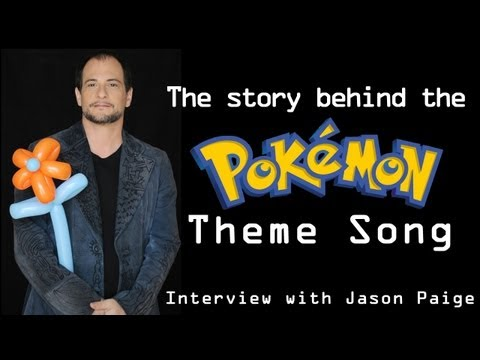 The Story Behind the Pokémon Theme Song: Interview with Jason Paige
