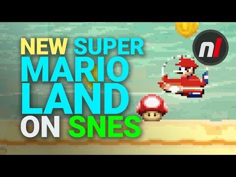 New Super Mario Land Remake On Super NES. What?