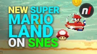 New Super Mario Land Remake on Super NES. What?