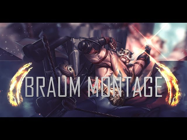 League of Legends BRAUM Support Montage