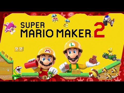 Super Mario Maker 2 for Switch ᴴᴰ (2019) Full Playthrough Extended (100% Castle, All 120 Levels)