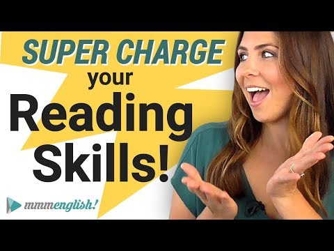 The Best Way To Improve Your Reading Skills ???? English Tips!
