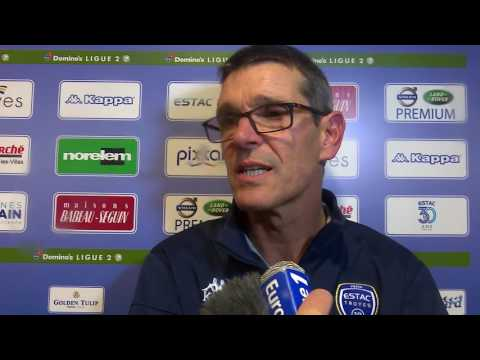 Estac-Clermont Foot⎥Réaction de Jean-Louis Garcia
