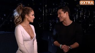 Jennifer Lopez Backstage with Mario After Her Las Vegas Show's Opening