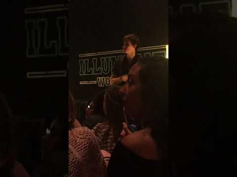 Shawn Mendes Illuminate World Tour Oracle Arena Q&A