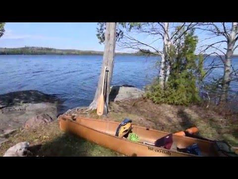 BWCA 2016 Brule Lake Campsite