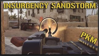SPITTING Rounds with the PKM and DShK - Insurgency Sandstorm Gameplay [Beta One]