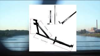 Side Steel Universal Pickup Truck Ladder & Lumber Rack