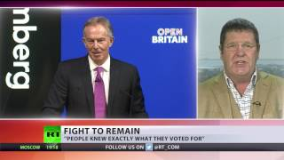 Rise up against Brexit! Tony Blair urges Brits to remain in EU