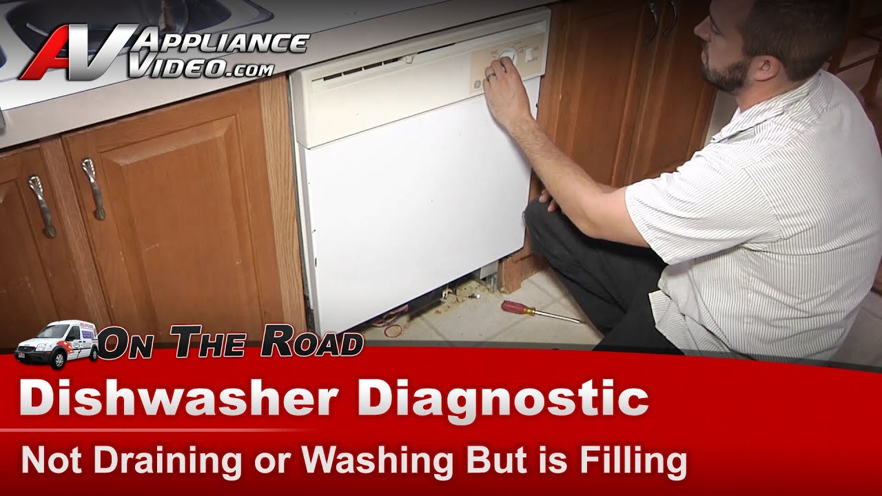 wiring diagram for hotpoint dishwasher ge      hotpoint     amp  rca    dishwasher    diagnostic not draining  ge      hotpoint     amp  rca    dishwasher    diagnostic not draining