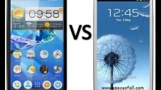 Lenovo P780 VS  Samsung S III