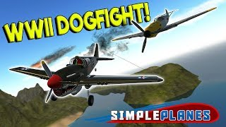 EPIC WWII DOGFIGHT & BOMBER RUN! - Simple Planes Creations Gameplay - EP 20