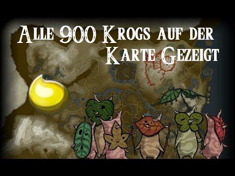 Zelda Krog Karte.Spoiler Alle 900 Krogs Auf Der Map Gezeigt Aus The Legend Of Zelda Breht Of The Wild
