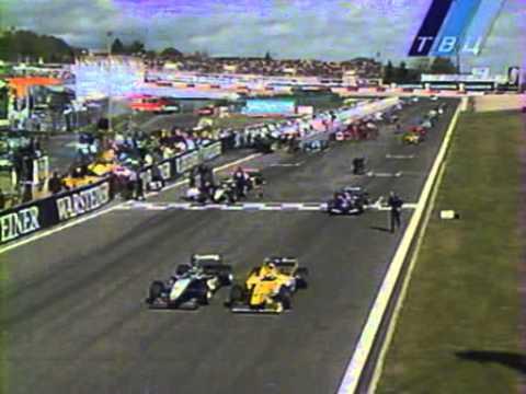 Formula 1 Europe 1999. Massive false start
