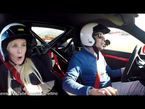 My Girlfriend's Reaction to the Porsche 991 GT3 - Her First Trackday! [Sub ENG]