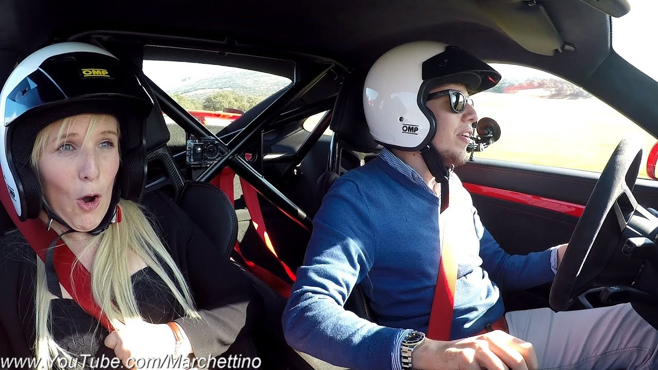 Download My Girlfriend's Reaction to the Porsche 991 GT3 - Her First Trackday! [Sub ENG]