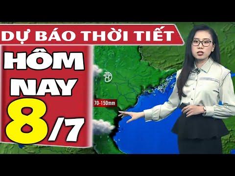 Dự báo thời tiết hôm nay mới nhất ngày 8/7/2021   Dự báo thời tiết 3 ngày tới