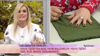 Derya Baykal'la Gülümse: Penye Tişörtten Bere Yapımı