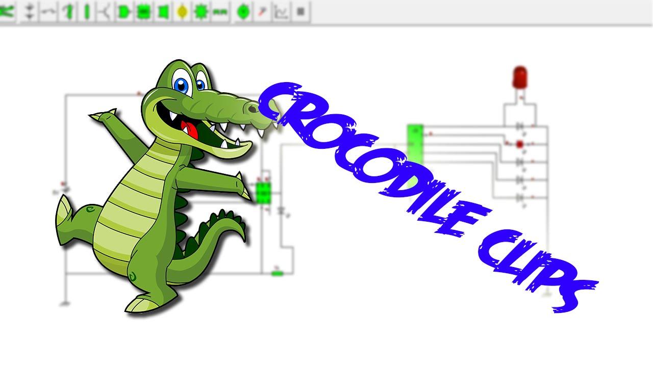 Crocodile Technology Software Electrobrahim Disear Circuitos Electrnicos Fcil Clips Youtube