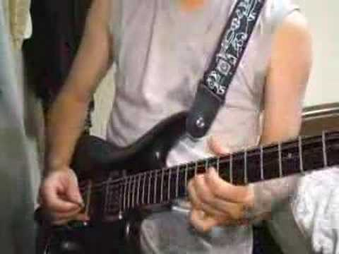 Joe Satriani - Crowd Chant cover