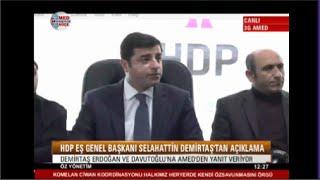 """Demirtaş:  Bir Çok Konuya Değiniyor MUTLAKA İZLEYİN  """" SON DAKİKA 30.12.2015 """""""