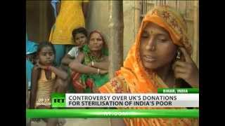 Population Control: UK aid funds forced sterilisation of India