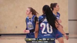 All norcal games girls high school bay area vs sacramento all-star game live 4/1/18