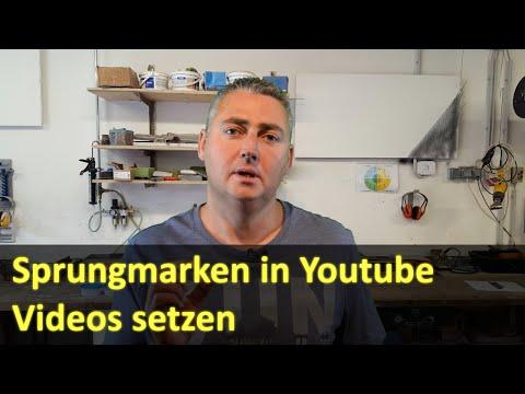 Sprungmarken in Youtube Videos setzen und Sprungmarken extern verlinken