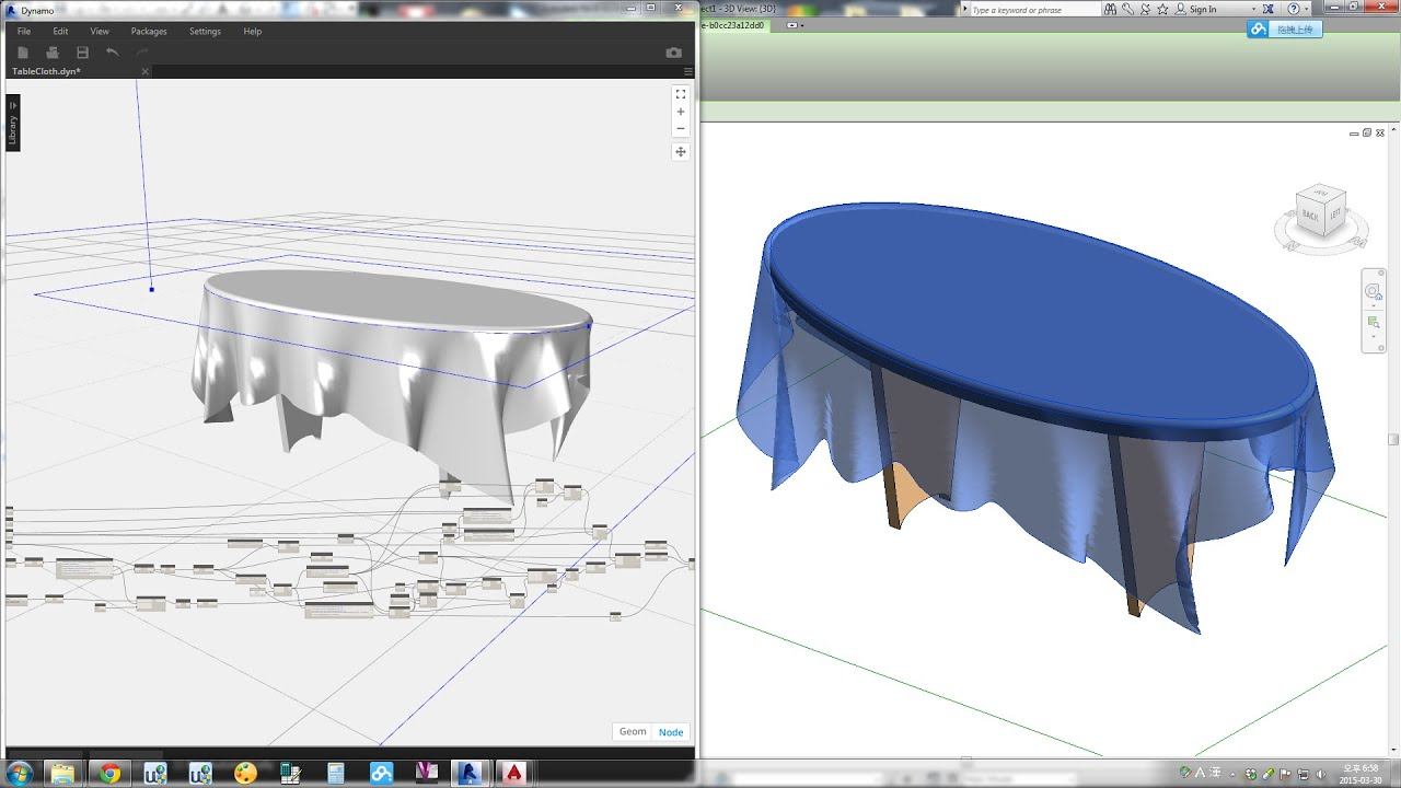 Revit Tips Tablecloth By Dynamo Youtube
