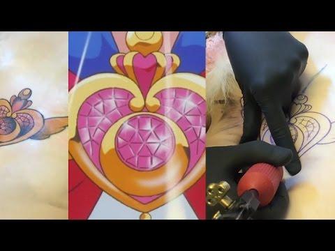 Crisis Moon Compact tattoo