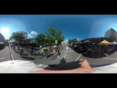 Bike Race 360 Degree Interactive Video of Hyde Park Blast Cincinnati 2016