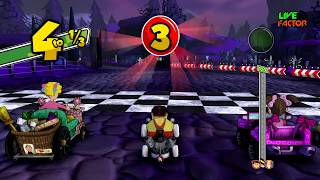 Gameplay - Ñoño corriendo en la Copa Profesor Jirafales - El Chavo Kart - #Gameplay