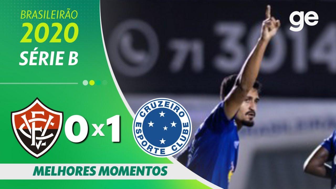 VITÓRIA 0 X 1 CRUZEIRO | MELHORES MOMENTOS | 28ª RODADA BRASILEIRÃO SÉRIE B  2020 | ge.globo - YouTube