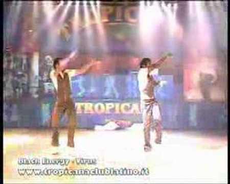 Tropicana Club Latino Milano - Show Black Energy