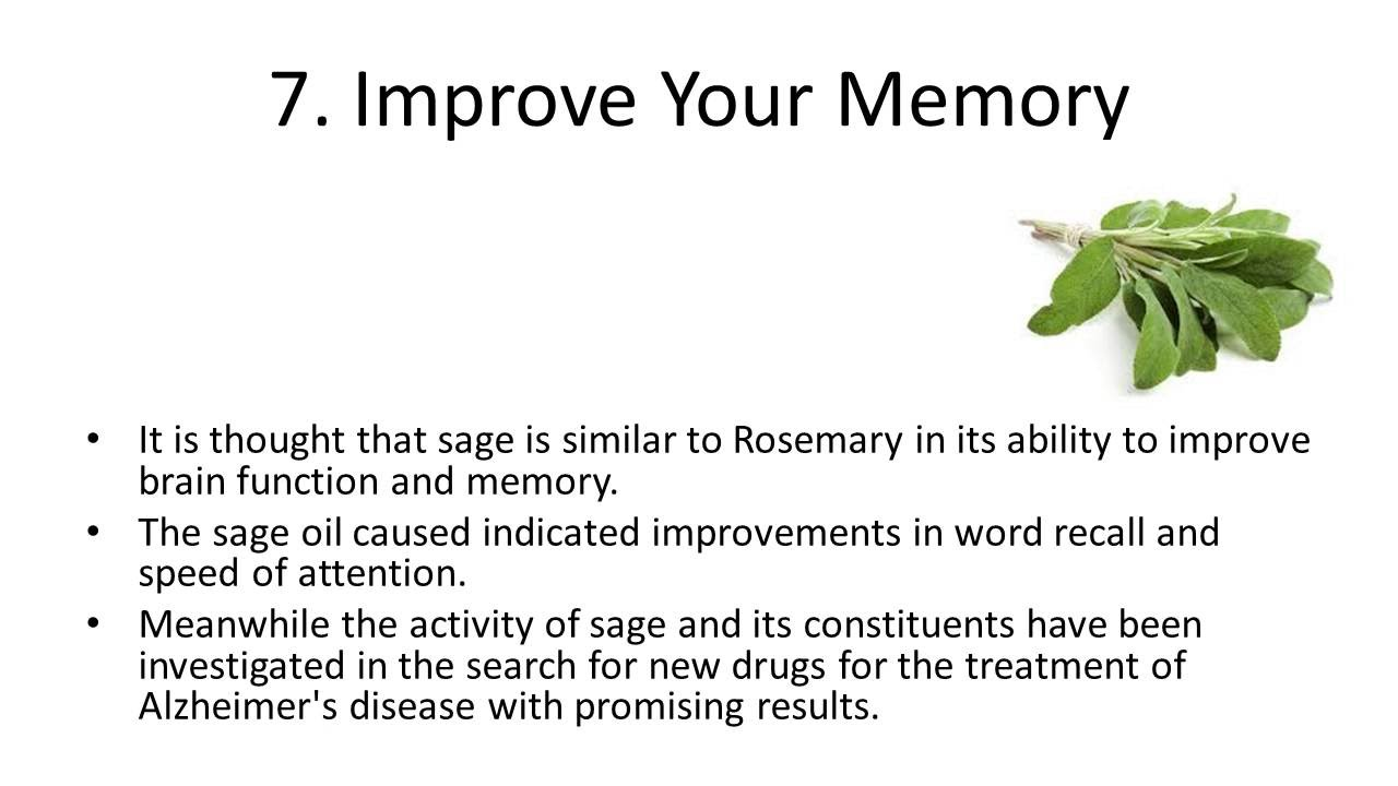 Top 10 Health Benefits and Advantages of Eating Sage - YouTube